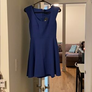 Blue French Connection dress